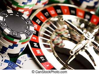 Gambling - Casino - a place where you can win or lose money....