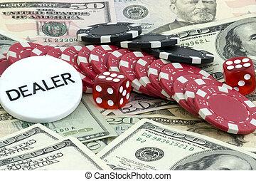 Gambling set