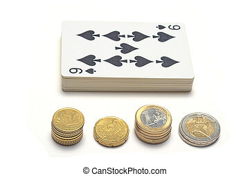 Gambling with cars and euros