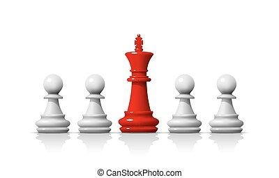 game., チェス, リーダー