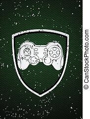 Game badge