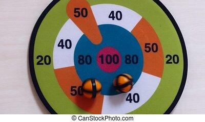game balls, throw, ball shaped dart throwing,