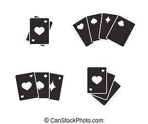 Game cards icons