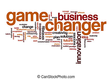 Game changer word cloud