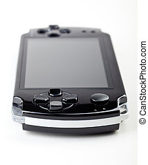 Game console - Handheld game console with blank 16:9 screen