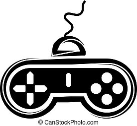 Game Controller Icon Vector Illustration