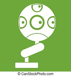 Game device icon green