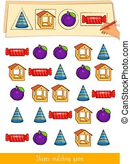 game., educativo, bambini, activity., bambini primi passi