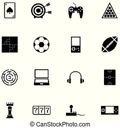 game icon set