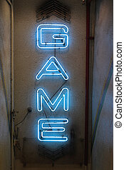 Game Neons Sign