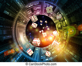 Game of Chance - Interplay of dice and technological...