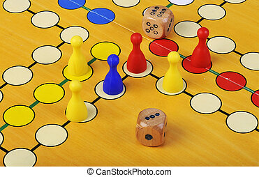 The ancient board game of Ludo (Take it Easy) is trully international. It has its original and specific name and version in many countries across the Globe.