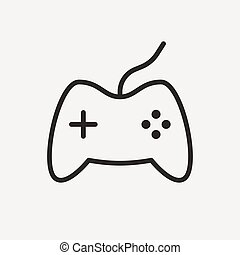 game outline icon