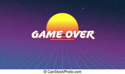 Game over sign