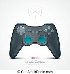 Game Pad Illustration