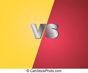 game versus vs background