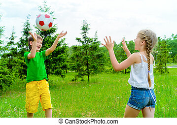 game with a ball