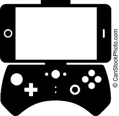 Gamepad for a smartphone, shade picture