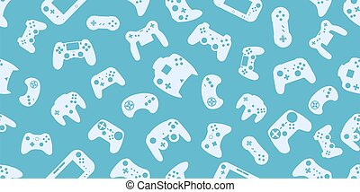 Gamepad Video game controller background