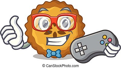 Gamer apple pie on the character board