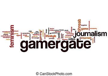 gamergate, 単語, 雲