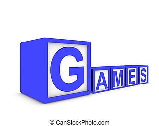 games made of boxes