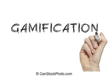 gamification, hand schreiben