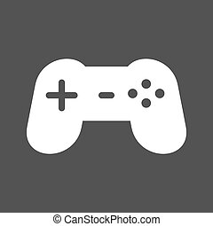 Gaming Console - Game, video, console icon vector image. Can...