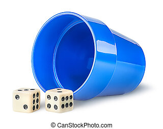 Gaming dice and cup