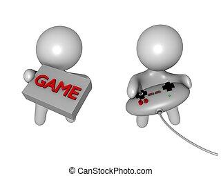 gaming guys 3d