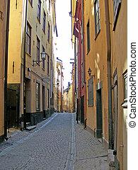 gamlastan, rue, stockholm, 04