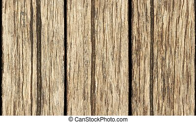 gamle, af træ, seamless, tekstur, mur, planke, baggrund