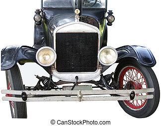 gamle, automobil