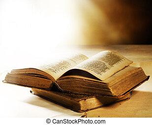 gamle, bog