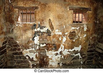 gamle, fængsel celle
