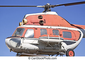 gamle, helicopter, -, mi., 2.