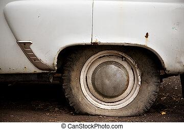 gamle, hjul
