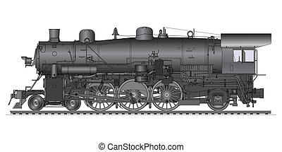 gamle, lokomotiv