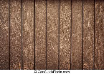gamle, træ, planke
