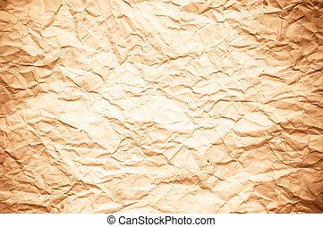 gammal, årgång, struktur, papper, bakgrund, eller