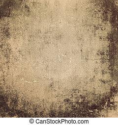 gammal, abstrakt, grunge, bakgrund