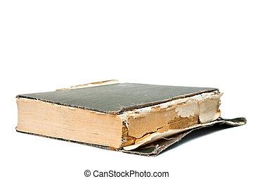 gammal, bok