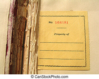 gammal, bookplate