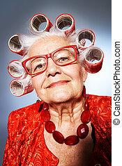 gammal, fashionista