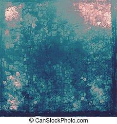 gammal, grunge, bakgrund, eller, skadat, struktur, in, retro, style., med, olik, färg, patterns:, blue;, gray;, purpur, (violet);, cyan;, rosa