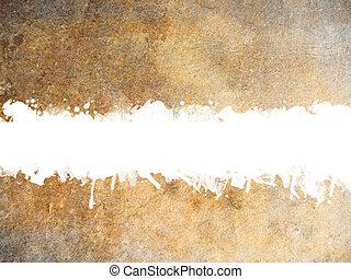 gammal, grunge, papper, bakgrund, med, fläckat