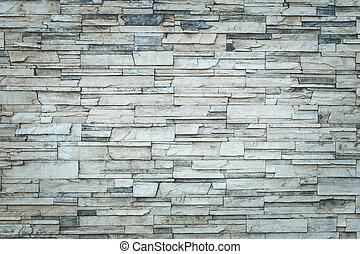 gammal, naturlig, stena väggen