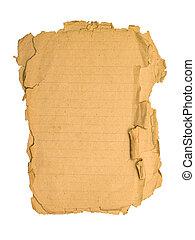 gammal, papper
