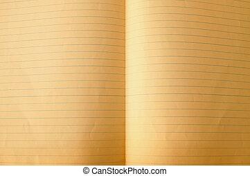 gammal, papper, sidor, för, bakgrund