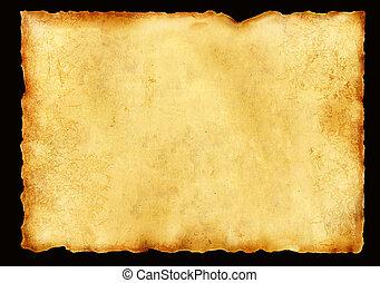 gammal, pergament